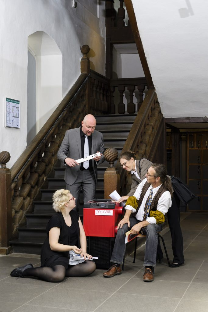 Gäste im Vorübergehen @ Stadtmuseum Erlangen