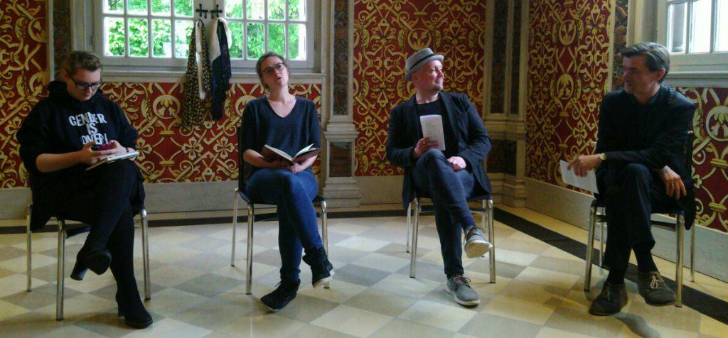 Szenen eines im Entstehen begriffenen Stücks @ Zeitungs-Café Hermann Kesten